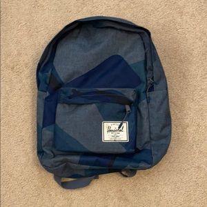 Herschel Blue camo backpack